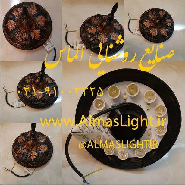 پرژکتور های (لامپ) پرچمی صنایع روشنایی الماس لایت